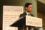 Andy Burnham talking about the role of the voluntary sector in health services